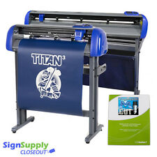 "New 54"" TITAN 3 ARMS Professional Vinyl Cutter w/Stand - Wide Format (SAVE $600)"
