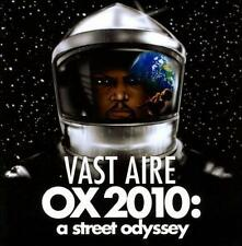 OX 2010: A Street Odyssey by Vast Aire (CD, May-2011, Fat Beats)