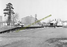 Andover Town Railway Station Photo.Andover Jct. to Clatford and Fullerton. (12)