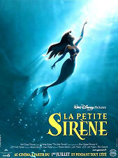 Affiche Roulée 120x160cm La Petite Sirène (The Little Mermaid) /Disney 1990 NEUV