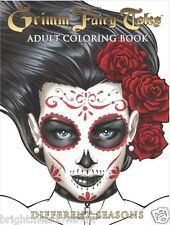 Grimm Fairytales Different Seasons Adult Colouring Book Zenescope Comic Fantasy