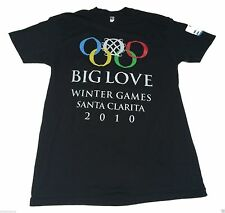 (M) BIG LOVE Winter Olympics 2010 HBO Black Tee Shirt Television Mormon Polygamy