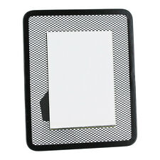 """1 Rubbermaid Black Mesh 3"""" X 5"""" Picture Photo Frame"""
