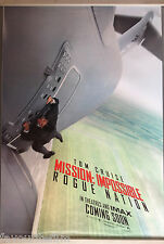 Cinema Poster: MISSION IMPOSSIBLE ROGUE NATION 2015 (Adv. One Sheet) Tom Cruise