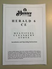 Owners Manual For Hunter Herald 6 Multi-fuel Stove
