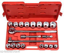 3/4-Inch Drive Jumbo Socket Set, SAE, 21-Piece