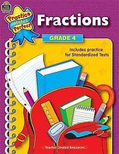 Fractions Grade 4 (Practice Makes Perfect (Teacher Created Materials))
