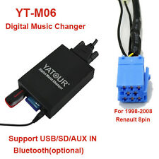 Car MP3/WMA Integration kit for Renault Siemens VDO Dayton 8-pin