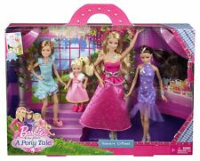 2012 BARBIE AND HER SISTERS IN A PONY TALE GALA GOWN SISTER'S GIFTSET