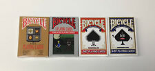 8 BIT PLAYING CARDS PIXELATED 4 PACK ~ FREE SHIPPING