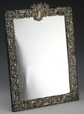 Antique London Sterling Silver Mirror. By William Comyns & Sons Ltd
