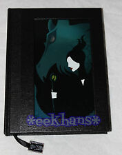 NEW Disney Store Maleficent Movie Journal Notebook With Charm Sleeping Beauty