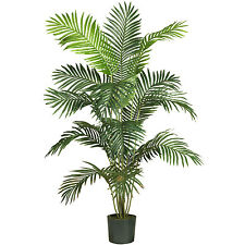 6 ft Indoor Outdoor Artificial Silk Paradise Palm Tree Home Decor