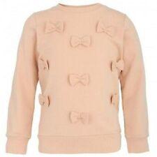 Mini Rodini Girl's Shirt Organic Cotton Bows Size 5-7 yrs 116/122