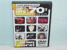 "*****DVD-GREATEST HITS OF THE 70's-Original Hits & Video Clips""-2001 Disky*****"