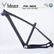 29er BSA Carbon MTB Frame 17.5 inch 3K Matt 135/142mm Mountain Frameset