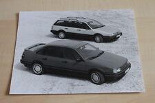 SV0755) VW Passat GT syncro G60 + Variant Pressefoto 08/1989