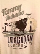NEW TOMMY BAHAMA RELAX WHITE 100% COTTON T-SHIRT MEN'S GRAPHIC TEE XL X-Lrg