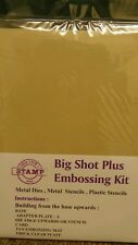 Big Shot Plus A4 Machine Professional Embossing Kit