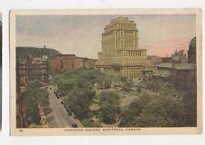 Dominion Square Montreal Vintage Postcard Canada 424a