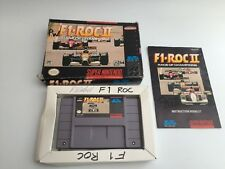F1 ROC 2 II - Race Of Champions - Nintendo Snes - NTSC - Boxed & Complete