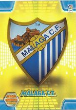 N°181 ESCUDO BADGE # MALAGA.CF CARD PANINI MEGA CRACKS LIGA 2011