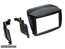 Fiat Doblo 2010 on Black Double Din Car Stereo Fitting Kit Facia CT23FT15