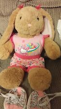 BUILD A BEAR EASTER BUNNY DRESSED IN HELLO KITTY CLOTHES/SHOES!!