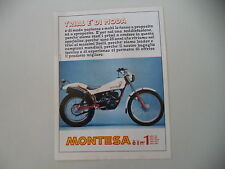 advertising Pubblicità 1981 MOTO MONTESA COTA 348 TRIAL
