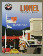 LIONEL 2014 TRAIN CATALOG VOLUME 2 fall o gauge train dealer book NEW