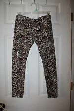 One Step Up--Women's Animal Print Leggins Cotton/Spandex--L