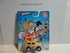 Hot Wheels Archies Comics Yellow '67 Ford Bronco w/Real Riders