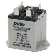 8 pins Plug-in Type 250V AC 30A Electronic Coil Power Relay JQX-30F #02961