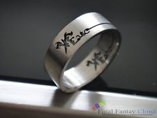 1x Fate Stay Night Hollow-out Stainless Steel Ring Japanese Anime Manga Cosplay
