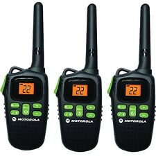 Motorola Talkabout MD207R Walkie Talkie 3 Pack Set 20 Mile Range Two Way Radio