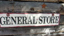 """""""GENERAL STORE""""""""PRIMITIVE WOOD  SIGN,COUNTRY,RUSTIC DECOR,PORCH,VINTAGE STYLE"""