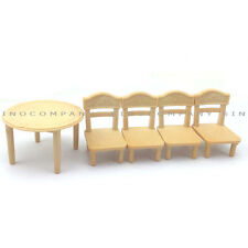 Kids Toys Sylvanian Families Table & Chair For dining room Furniture DollHouse