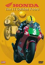 Honda - The TT Golden Years (New DVD) Motorcycle Sport Redman Dunlop Fogarty etc