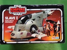 Vintage Star Wars Slave I 1 Boba Fett Spaceship Boxed Action Figure Palitoy