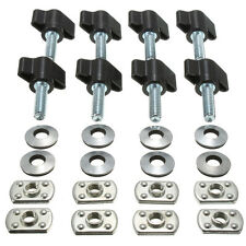 8xUniversal Hard Top Quick Removal Nut Screws+Washers.For Jeep Wrangler YJ TJ JK