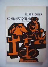 Schachbuch Kombinationen von Kurt Richter