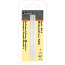 General's Factic BM-2 Eraser Refills. One Pack Of Three