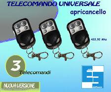 Telecomando cancello universale