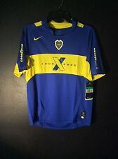 New Vintage Nike Youth XL (18-20) CABJ Boca Juniors Home Soccer Jersey 1995-2005