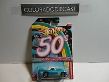 Hot Wheels Cars of the Decades Blue '57 Ford Thunderbird