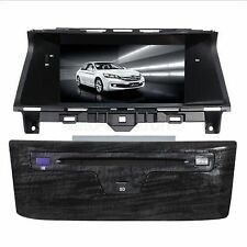 "8"" Car Stereo Auto-Radio DVD Player GPS Navigation RDS BT for Honda Accord 8th"
