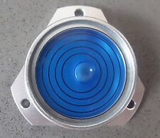 Blue metal esprit Bulls Eye bulle surface Plumb niveau-Surface Ronde Caravane