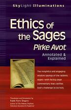 Ethics of the Sages: Pirke Avot_Annotated & Explained (SkyLight Illuminations)