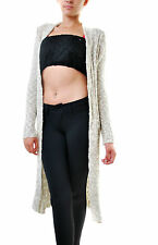 Free People Women's Free Spirit Knit Cardigan Ivory Combo RRP  £128 BCF68