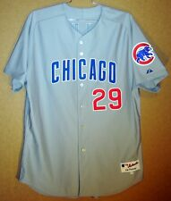 Chicago Cubs Sullivan Gray Mlb Button-Down Authentic Jersey